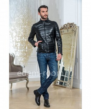Мужская куртка из искусственной кожиАртикул: IK-160-70