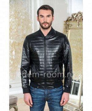 Куртка из эко-кожи - бомберАртикул: IK-121-70