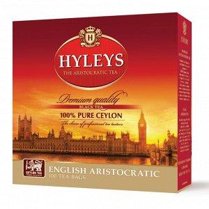 """Чай Hyleys """"Английский Аристократический"""", 100пак"""