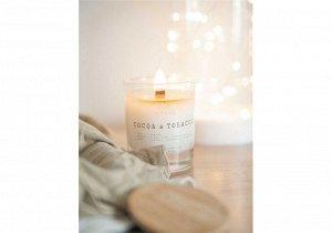 Свеча с деревянным фитилем - 225 мл