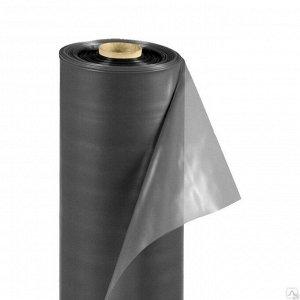 Плёнка П/Э Чёрная 3м 100мкм (рулон 50метров)