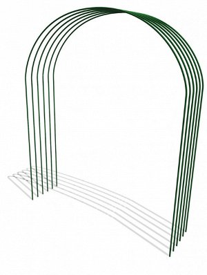 Дуги парниковые Труб в ПВХ 4,0мет*6шт комплект Г-001