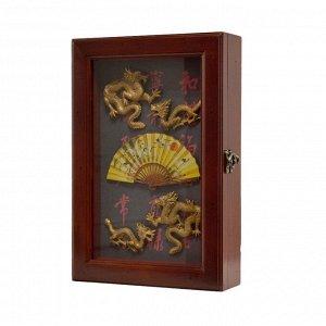 Ключница 30*20*6см 60016--1 Др.Китай/Драконы
