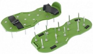 Аэратор ножной для газона GRINDA GА-26 (26 шипов по 50мм)