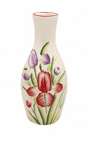 Ваза J10-13-а53 Тюльпаны Горло узкое