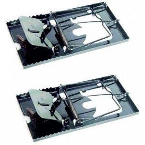 Мышеловки Mouse Trap Металические Большие (1уп/2шт) Цена за УПАКОВКУ