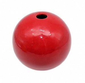 Ваза Шар Красный 12*12см 2301-S