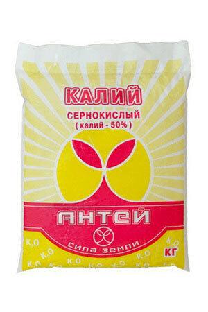 Удобрение Сульфат Калия 3кг (1уп\8шт) Антей КАЛИЙ СЕРНОКИСЛЫЙ