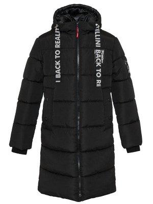 З 20 Пальто - пуховик для мальчика Черный