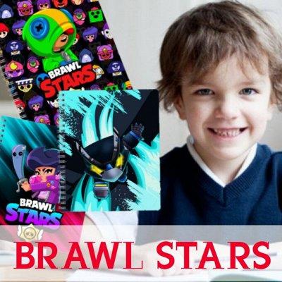 Brawl Stars. Одежда и аксы. Новинки! — Много новинок! Тетради Brawl Stars — Школьные принадлежности