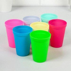 """Набор пластиковых стаканчиков """"Псс.."""", 7 шт"""