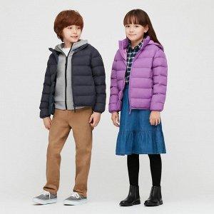 Детский пуховик,пурпурный