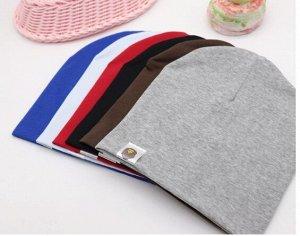 шапка Окружность головы. 97%хлопок, 3%Lycra , на 1-4года