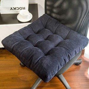 Подушка для стула, синяя