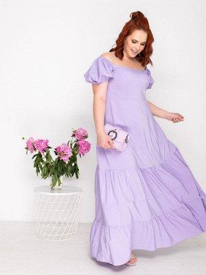 Платье 999-4 сирень