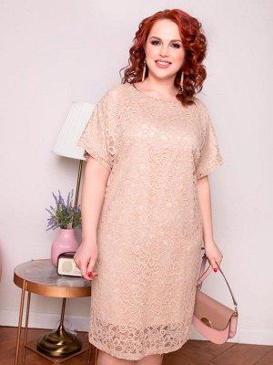 Платье 176-20 натурель