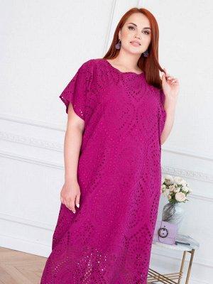 Платье 153-68 пурпурная фуксия