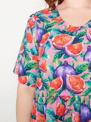 Платье 240-10 инжир