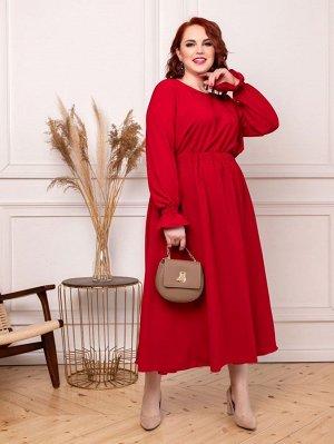 Платье 011-12 красное