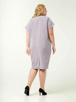 Платье сирень 129-1