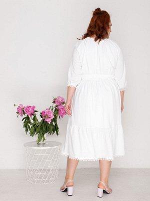 Платье 706-1 белое
