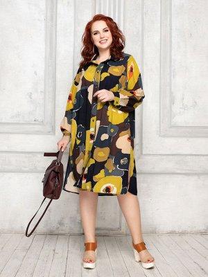 Платье-рубашка 132-28