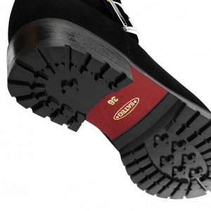 Стильные ботинки с прямым голенищем. Модель 3173 н замша (зима)