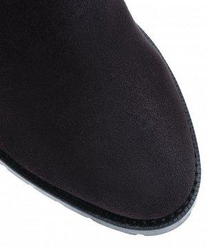 Ботинки Челси замшевые. Модель 3183 б эк замша антрацит (демисезон)