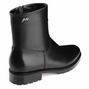 Ботинки на молнии с декоративным рантом. Модель 3208 н (зима)