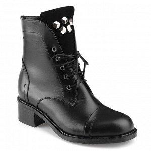 Ботинки женские с замшевым язычком. Модель 3218 н (зима)