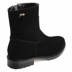 Замшевые ботинки. Модель 3208 н замша (зима)