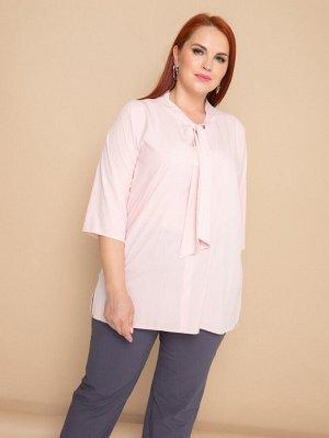Блуза 323-4 пудра