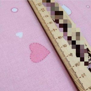 Сердечки Фланель LUX. Тип ткани- фланель - состав -100% хлопок - плотность - 160 гр/м2 - размер 75*110 см (+/- 2-3 см) - край обработан оверлоковым швом