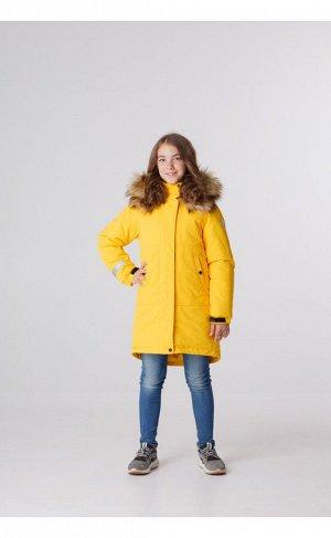 Хельмику Парка для девочки «Снежок» желтый
