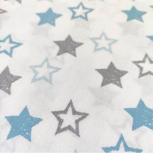 Звезды голубые и серые