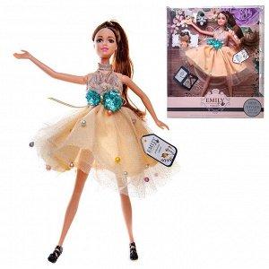 Кукла ABtoys Emily Цветочная серия с питомцем и аксессуарами, 30см172