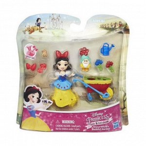 Кукла Hasbro Disney Princess маленькая с аксессуарами 2 вида (Золушка, Мулан)9