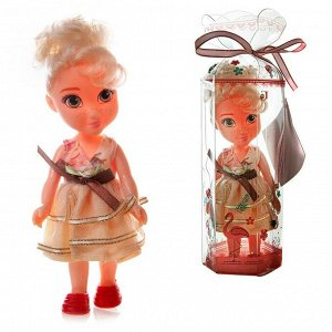 Кукла ABtoys Emily мини в прозрачной коробочке (блодинка), 16,5см59