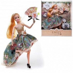 Кукла ABtoys Emily Летняя серия с букетом и аксессуарами 30см168
