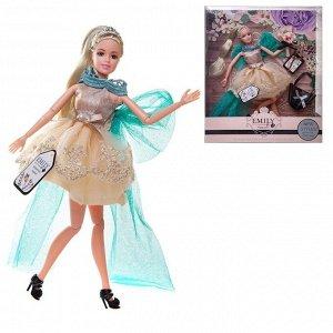 Кукла ABtoys Emily Цветочная серия с сумочкой и аксессуарами, 30см192