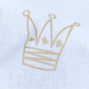 Короны голубые и золотые