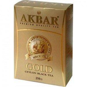 Чай черный Akbar Gold, 250г