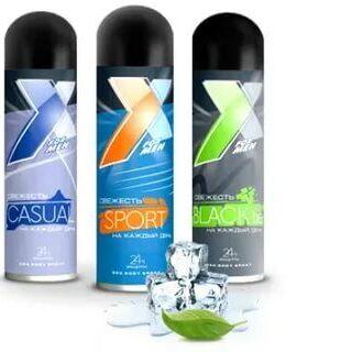 Настоящие скидки на быт.хим! Акции  — Минус 20% на дезодоранты S'COSMETIC и X STYLE — Красота и здоровье