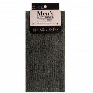 Мочалка для мужчин (средней жесткости) 1 шт (28 см х 130 см)