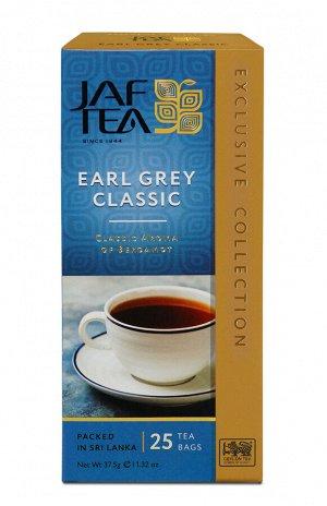 Чай JAF Earl Grey черный, 25пак