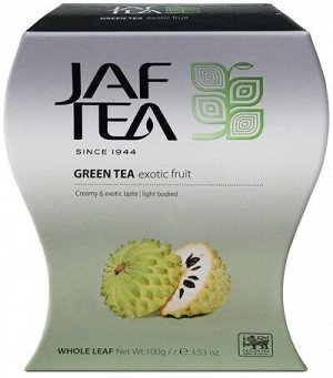 Чай Jaf Exotic Fruit зеленый, 100г