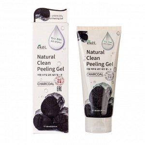 Пилинг-гель для лица с древесным углем   Peeling Gel Charcoal