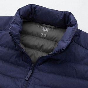 Ультралегкая пуховая компактная куртка,синий