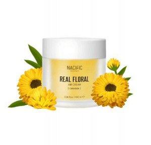 Лёгкий гель-крем с лепестками календулы Real Floral Air Cream Calendula