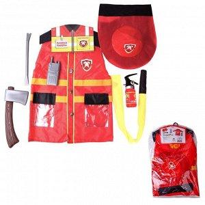 Игровой набор ABtoys Важная работа Форма пожарного, 7 предметов в наборе с аксессуарами93